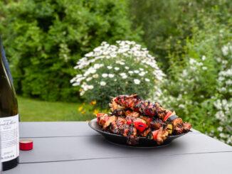 Grillspett med kyckling