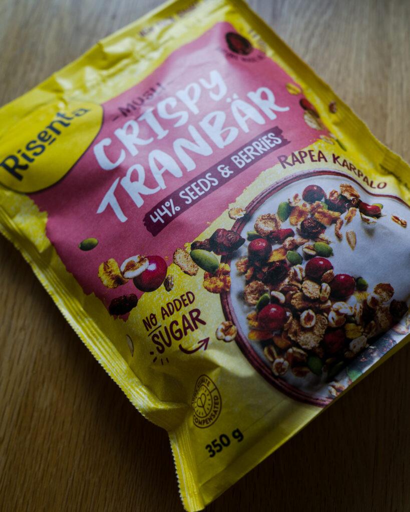 Risenta: Crispy Tranbär