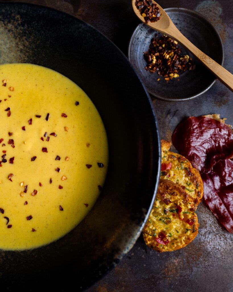 Mustig majssoppa