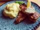 Kycklingschnitzel med kryddsmör